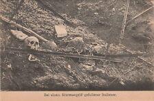 * GORIZIA GORZ - Bei einem Sturmangriff gefallener Italiener Caduti Italiani WWI