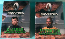 2 Star Trek The Trouble With Tribbles Federation & Klingon DeckCard SM53