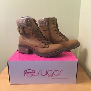 *BRAND NEW* Sugar Zania Women's Ankle Boots Shoes Was $90 *FAST SHIPPING*