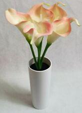 "LED Blumen: LED-Calla ""Real Touch"" mit 5 LED-Blüten 28 cm rosa creme Calla Neu"