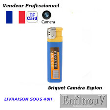 BRIQUET FACTICE CAMERA ESPION PHOTO 1280x1024 DETECTION SONORE