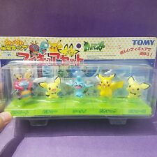 (5th Anniversary Special Pack) Tomy Pokemon Figure Set Pichu Twins sp