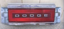 1988-1993 DODGE DYNASTY TAILLIGHT CENTER REFLECTOR  VERY GOOD USED CONDITION