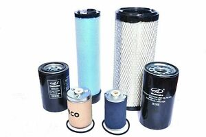 MAHINDRA TRACTOR FILTER ECONOMY PACK OF 6 FOR 4500 / 5500 / 6000 / 6500