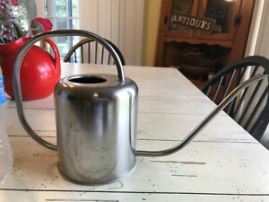 WATERING CAN aluminum cute nice condition metal