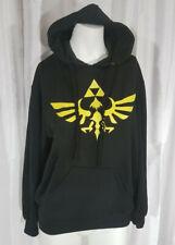 Nintendo Legend of Zelda Gold Triforce Logo Hoodie
