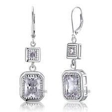 Leverback Diamond Fashion Earrings