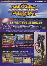 1997 NAMCO MOTOCROSS GO! JP VIDEO FLYER