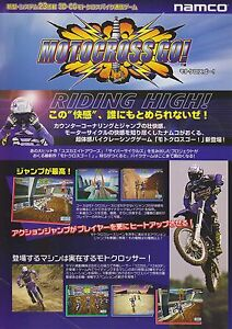 1997 NAMCO MOTOCROSS GO! JP VIDEO FLYER