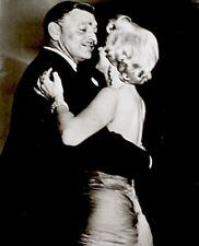Marilyn Monroe Clark Gable 1954 Vintage Press New Romance Chronicle Stamp Snipe