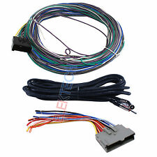 BHA5515 Aftermarket Radio Replacement Rear Control Bypass Wire Harness for Ford