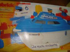 BATEAU ABRICK BRIGADE MARITIME 35 ELEMENTS A MONTER POLICE FLUVIALE ECOIFFIER