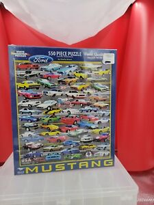 White Mountain 55 Piece Puzzle 50 years Mustang