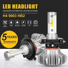 2X NEW CREE H4 HB2 9003 1150W 172500LM LED Headlight Kit Hi/Lo Power Bulbs 6000K