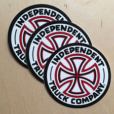 Independent skateboard trucks company sticker cross decal vinyl OG classic red