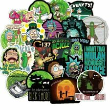 10pcs Rick And Morty Car Sticker Cute Character Stickers - BUY 2 GET 1 FREE
