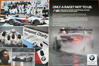GT LE MANS BMW #25 Signed by all  drivers  Rolex 24 Poster 3'X2' BMW Team RLL