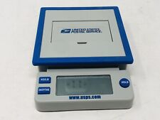 Usps Postal Service 10 Lb Digital Shipping Scale Blue Amp Gray Tested And Works