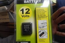 12 Volt Rechargeable Columbia 300mA Battery w/Charger NEW for 1/6 sale