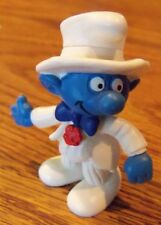 The Smurfs Groom Smurf Wedding Schleich Made in Germany