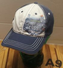 2011 WHL ROCKSTAR OUTDOOR HOCKEY CLASSIC HAT BLUE/WHITE ADJUSTABLE VGC A9
