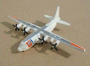Vintage Matchbox SB-34 Die Cast Model C-130 Hercules Aeroplane US Coast Guard