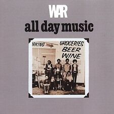 All Day Music by War (CD, Aug-2014, Far Out)
