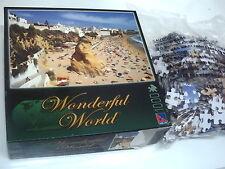 PUZZLE 1000 PIEZAS WORDERFUL WORLD . PLAYA DE ALBUFEIRA ALGARVE ... NUEVO