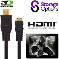 Storage Options Scroll 7, Excel Tablet HDMI Mini a HDMI TV 3m Wire Cavo Di Piombo