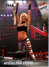 TNA Angelina Love #59 2010 Xtreme SILVER Parallel Card SN 37 of 40
