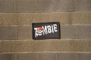 Afg-Pak Jsoc Spéciale Guerre Ssi Insignes Velkrö Patch : Zombie Sf Crane