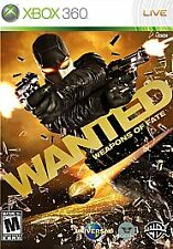 Wanted: Weapons of Fate - Xbox 360 Video Game Only No Case Best Deals 27h