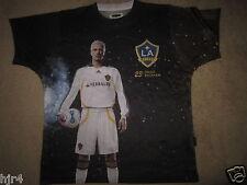 David Beckham LA Los Angeles Galaxy Soccer Shirt M Medium mens