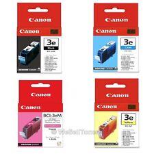 Canon BCI-3e Black & Colors Ink Cartridge Combo BJC-3000 Genuine New