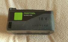 Festool airstream li-ion battery 5.2Ah
