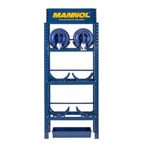 MN1513 Mannol Drum Storage Rack 6x20L Fassregal Abfüllplatz incl. Auffwangwanne