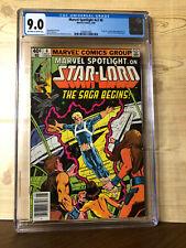 Marvel Spotlight #v2 #6 (May 1980) CGC 9.0 Origin & 1st comic book app Star-Lord