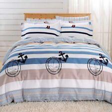 Luxury Hatteras Duvet Bedding Cover Sheets Set 100% Cotton Dolce Mela Queen Size
