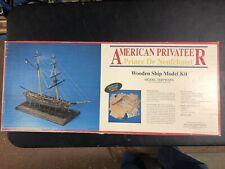 American Privateer Prince De Neufchatel Wooden Ship Model Kit