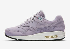 NIKE WMNS Womens Air Max 1 Premium SZ 9.5 Sherpa Pack Sneakers Violet 454746 501