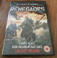 Renegades DVD (2018) NEW & SEALED Sullivan Stapleton Cert 12 Region 2 UK