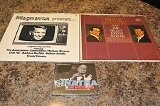 FRANK SINATRA LOT 2 LP 'S + LIVE FROM LAS VEGAS [Digipak] CD scellé G685