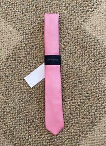 Boys Tommy Hilfiger Untied Neck Tie Shiny Pink 100% Polyester