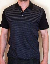New Mens Hugo Boss Fashion Black Polo Shirt Size XXL
