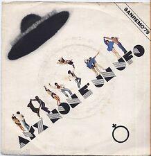"AYX Ayx Disco / Ayx Ritmo (Ayx Non È Un Ufo) - VINYL 7"" 45 LP 1979  NM COVER VG+"