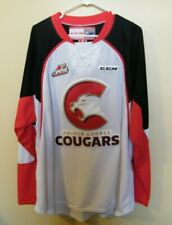2015 -  PRINCE GEORGE COUGARS / HOME  / CCM  /  HOCKEY JERSEY.