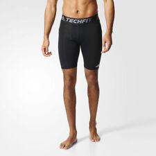 adidas Techfit Base Mens Black Climalite Compression Short Tights Bottoms XL