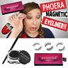 Phoera Magnetic Eyelashes Liquid Eyeliner Gel False Perfect 3D Eye Lashes Set