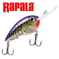 NEW Rapala PURPLE OLIVE CRAW Crankin' Rap Fishing Lure
