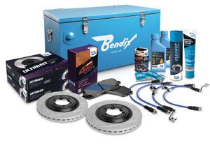 "Bendix Ultimate 4x4 Brake Upgrade Kit Front (Suits 2"" Lift) U4WD-BUK10+2"